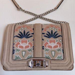 Rebecca Minkoff Small Love Embroidered crossbody